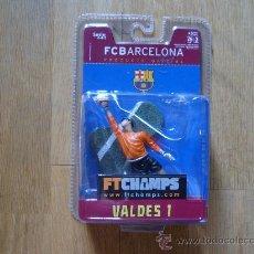 Figuras de acción: FTCHAMPS - VALDES 1 - FC BARCELONA - SERIE 4-4-2 - FIGURA DE 7.5 CM FT CHAMPS. Lote 30693924