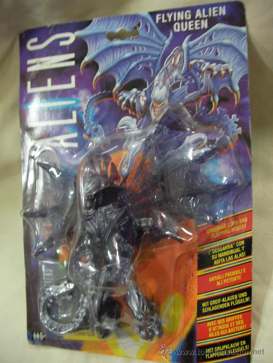 Antiguo Blister Flying Alien Queen De Coleccion Kaufen Andere