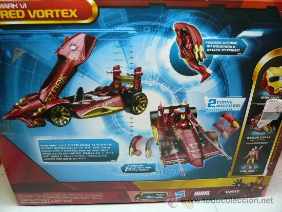 IRON MAN 2 MARK VI RED VORTEX