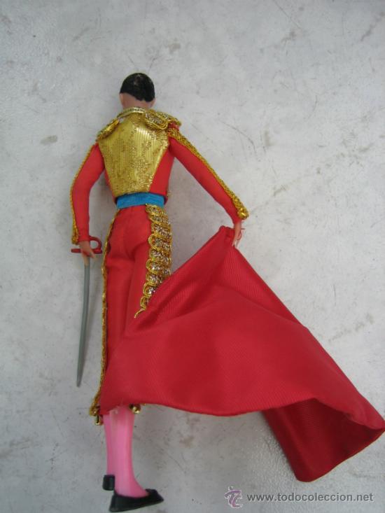 Figuras de acción: Muñeco torero. Altura 18 cm - Foto 3 - 218652133