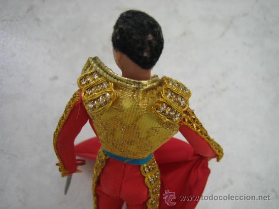 Figuras de acción: Muñeco torero. Altura 18 cm - Foto 2 - 218652133
