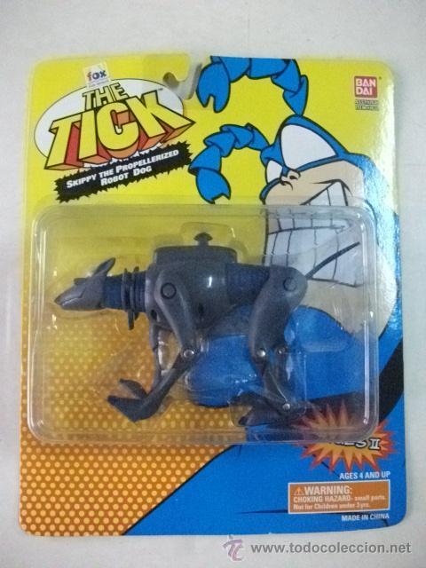 THE TICK - SKIPPY THE PROPELLERIZED ROBOT DOG - BANDAI (Juguetes - Figuras de Acción - Otras Figuras de Acción)