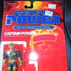 Figuras de acción: CAPITAN POWER Y LOS SOLDADOS DEL FUTURO SERIE TV.- CAPITAN POWER CON EL CARTON 1987 MATTEL. Lote 36073984