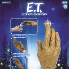 Figuras de acción: E.T THE EXTRA - TERRESTRIAL REPLICA E.T HAND WITH LIGHT - UP FINGER E T EXTRATERRESTRE. Lote 36269580