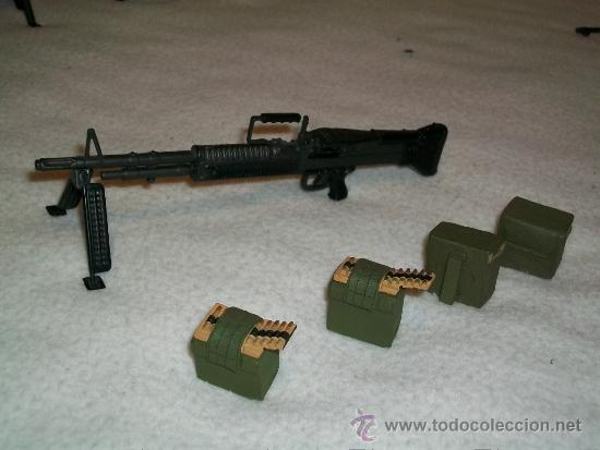Ametralladora m60 con municion usa guerra vietn - Sold