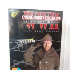 Figuras de acción: FIGURA US WWII ESCALA 1:6 DE DRAGON. CORONEL WILLIAM. BRUCE WILLIS. Lote 38994504