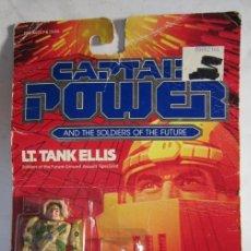 Figuras de acción: FIGURA CAPTAIN POWER, LT. TANK ELLIS, DE MATTEL, EN BLISTER. CC. Lote 39467719