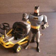 Figuras de acción: FIGURA DE BATMAN ORIGINAL DE NINTENDO CON VEHÍCULO -. Lote 39537412
