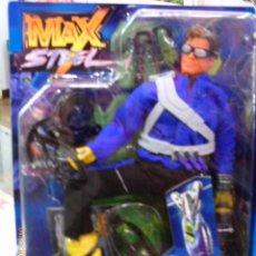 Figuras de acción: MAX STEEL ARCTIC COMMANDO CON POLEA MÓVIL.AÑO 2000.NUEVO EN CAJA.. Lote 206902747