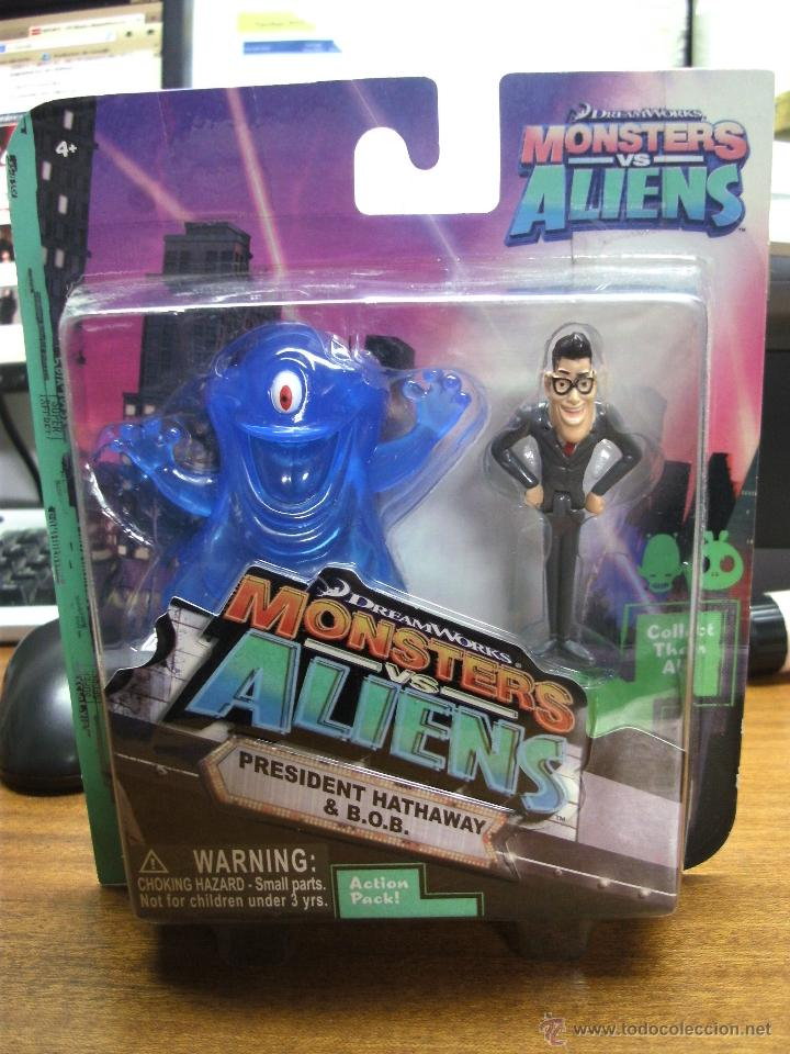Monster Vs Aliens President Hathaway Y B O B Sold Through Direct Sale 40583842