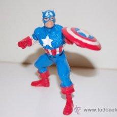Figuras de acción: FIGURA GOMA PVC CAPITAN AMERICA 10 CM.. Lote 40959099