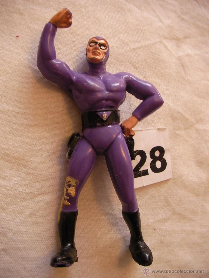 ANTIGUA FIGURA DE ACCION SUPER HEROE (Juguetes - Figuras de Acción - Otras Figuras de Acción)
