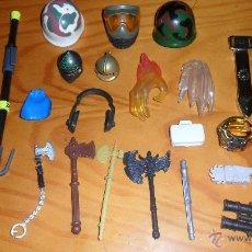 Figuras de acción: LOTE DE ARMAS Y ACCESORIOS, DE FIGURAS, GIJOE, ACTION MAN, PLAYMOBIL ...... Lote 41529589