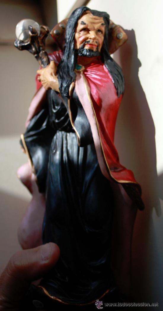 Figuras de acción: MAGO BASTON con BOLA DE CRISTAL.(myths and legends) - Foto 4 - 41708271