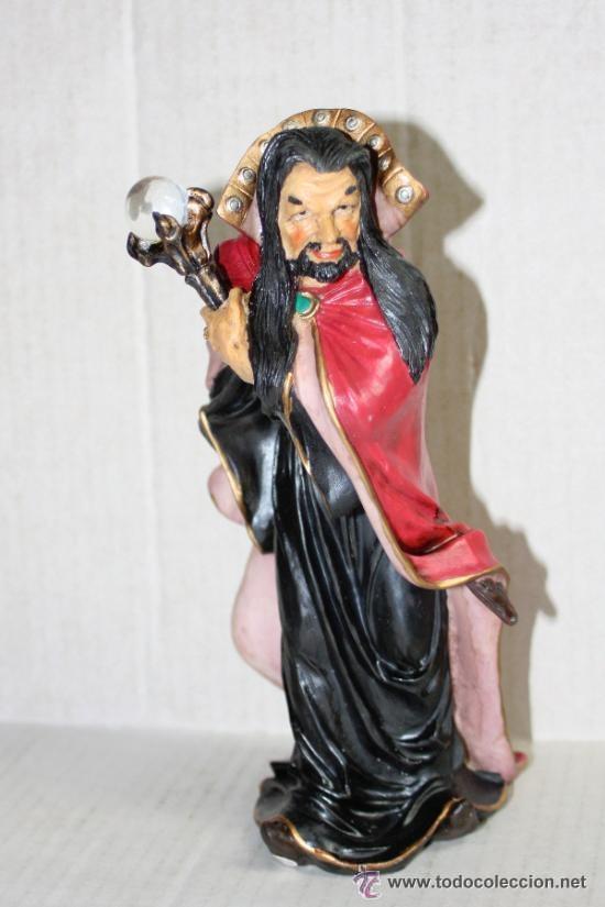 Figuras de acción: MAGO BASTON con BOLA DE CRISTAL.(myths and legends) - Foto 5 - 41708271