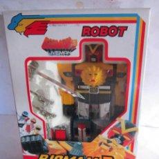 Figuras de acción: ROBOT, BIOMAN 3, LIVEMAN, EN CAJA. CC. Lote 42190569