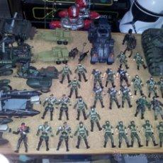 Figuras de acción: LOTAZO GIGANTE DE FIGURAS, ARMAS Y VEHÍCULOS DE TODO TIPO CHAP MEI SOLDIER FORCE. Lote 43601242