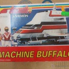 Figuras de acción: BIOMAN 3 LIVEMAN-MACHINE BUFFALO-NUEVO-AÑO 1988-BANDAI-INENCONTRABLE. Lote 120283910