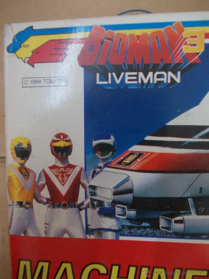 Figuras de acción: BIOMAN 3 LIVEMAN-MACHINE BUFFALO-NUEVO-AÑO 1988-BANDAI-INENCONTRABLE - Foto 2 - 120283910