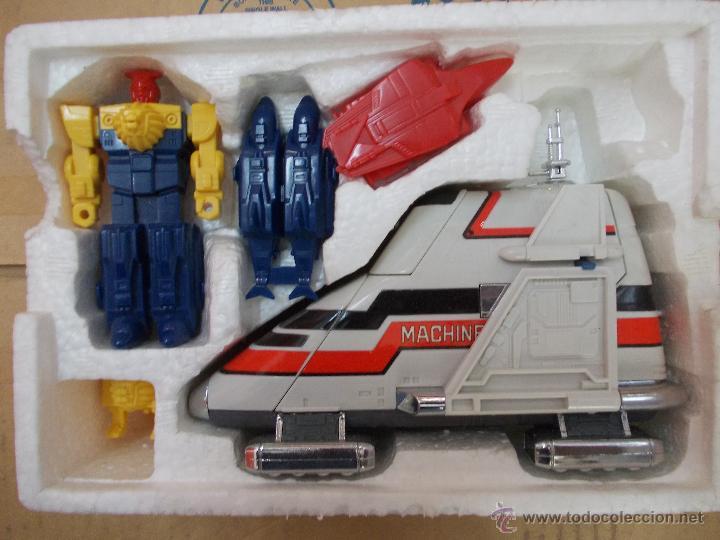 Figuras de acción: BIOMAN 3 LIVEMAN-MACHINE BUFFALO-NUEVO-AÑO 1988-BANDAI-INENCONTRABLE - Foto 3 - 120283910