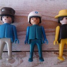 Figuras de acción: LOTE DE TRES MUÑECOS CLIKS DE FAMOBIL GEOBRA 1974.. Lote 45962486