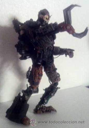 Figuras de acción: Figura acción robot androide , articulado.El hombre de hojalata de Macfarlane Monsters - Foto 2 - 46163196