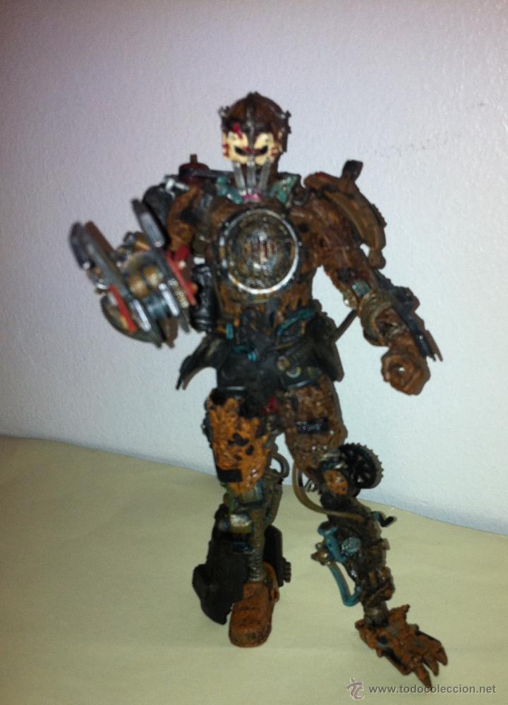 Figuras de acción: Figura acción robot androide , articulado.El hombre de hojalata de Macfarlane Monsters - Foto 3 - 46163196