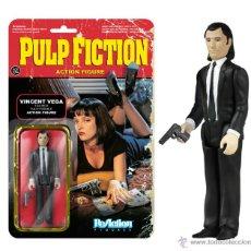 Figuras de acción: PULP FICTION - VINCENT VEGA - RETRO ACTION FIGURE – FUNKO – REACTION – KENNER. Lote 95777472