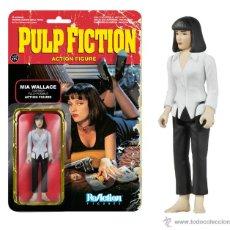 Figuras de acción: PULP FICTION - MIA WALLACE - RETRO ACTION FIGURE – FUNKO – REACTION – KENNER. Lote 95777500