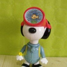 Figuras de acción: FIGURA PVC HAPPY MEAL MCDONALDS - SNOOPY BUZO BUCEADOR (AÑO 2000). Lote 47527236