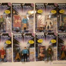 Figuras de acción: STAR TREK-COLECCION COMPLETA-8 FIGURAS-SERIE ORIGINAL-PLAYMATES-SUPERDIFICIL-1996-30 ANIVERSARIO. Lote 47835488