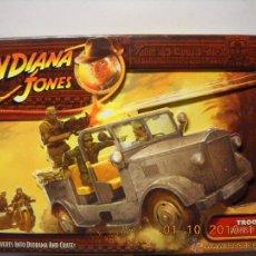 Figuras de acción: HASBRO INDIANA JONES RAIDERS LOST ARK 1/18 TROOP CAR. Lote 47895611