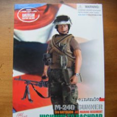 Figuras de acción: FIGURA DRAGON - GUERRA DE IRAK M240 GUNNER - FERNANDO - REF. 70265. Lote 48279000