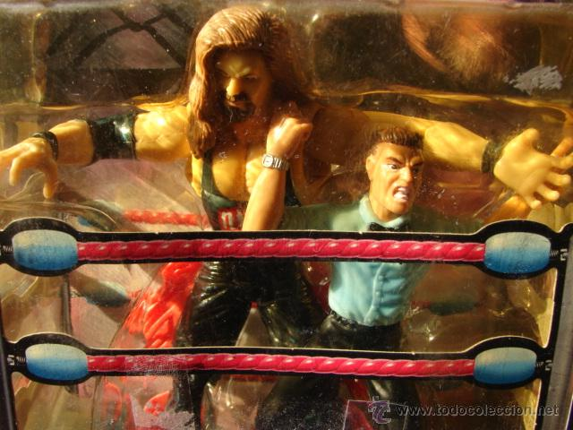 Figuras de acción: PRESSING CATCH - WCW - KEVIN NASH CON ÁRBITRO - BANDAI - Foto 4 - 48424050