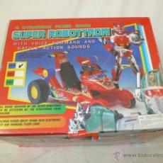 Figuras de acción: GRAN JUGUETE SUPER ROBOTTRON EN CAJA ORIGINAL, AÑOS 90, FIGURA ACCION. Lote 55820861