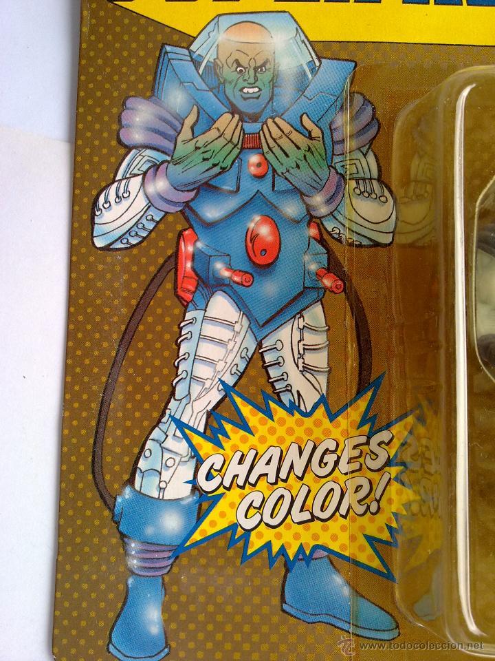 Figuras de acción: DC COMICS SUPERHEROES BLISTER FREZE VS BATMAN 1989 POS SUPER POWERS TOY BIZ - Foto 2 - 187129597