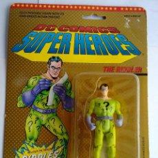 Figuras de acción: DC COMICS SUPERHEROES BLISTER ENIGMA 1989 POS SUPER POWERS TOY BIZ. Lote 238888185