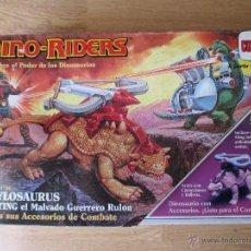 Figuras de acción: DINOSAURIO ANKYLOSAURUS DE DINO RIDERS COMANSI AÑO 1987.. Lote 49601263