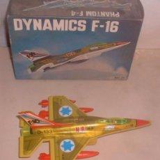 Figuras de acción: AVION DYNAMICS F-16, REF 24, DE RESORTES VALLS, EN CAJA. CC . Lote 49823852