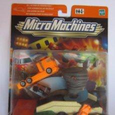 Figuras de acción: MICRO MACHINES, GIRO TORNADO, DE HASBRO, EN BLISTER. CC. Lote 50032271