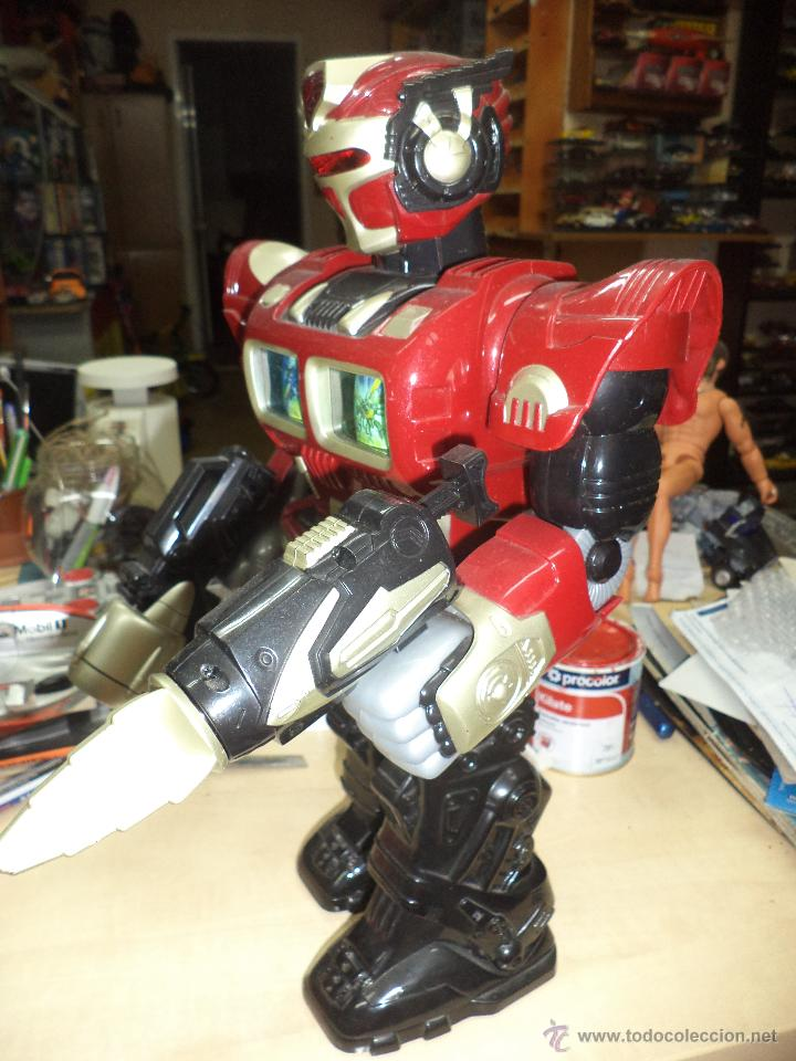 Figuras de acción: Robot mecánico / androide de ataque-Dispara y Camina- 40 cm de altura - Foto 2 - 50094062