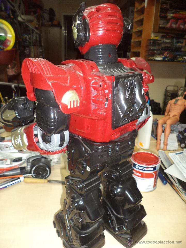 Figuras de acción: Robot mecánico / androide de ataque-Dispara y Camina- 40 cm de altura - Foto 3 - 50094062