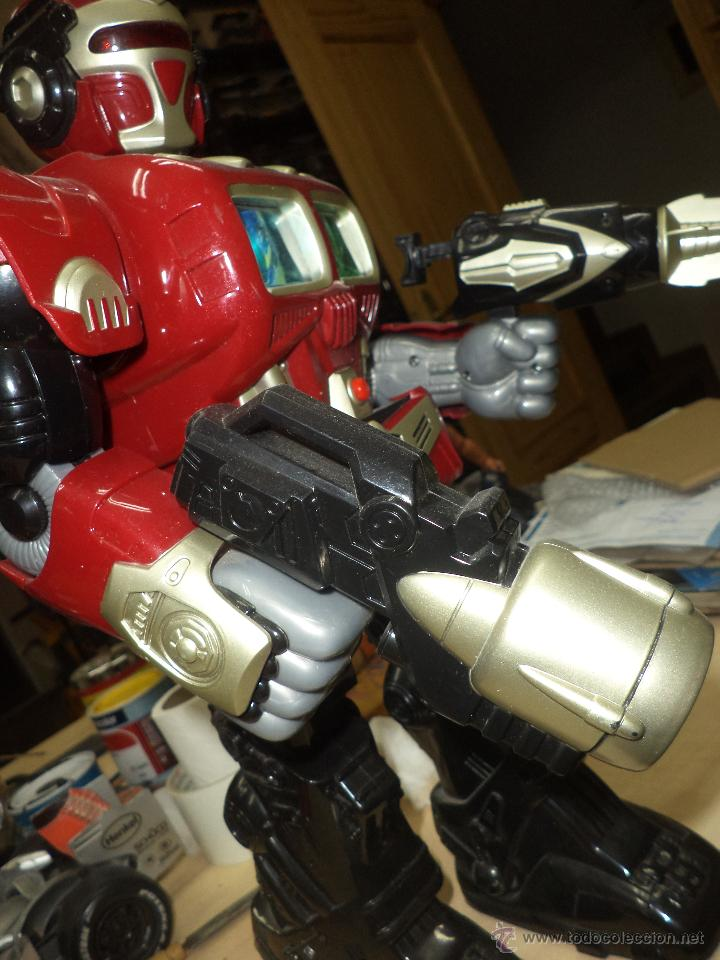 Figuras de acción: Robot mecánico / androide de ataque-Dispara y Camina- 40 cm de altura - Foto 7 - 50094062