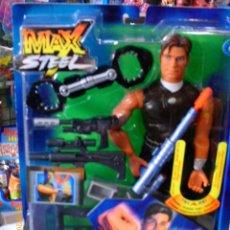 Figuras de acción: MUÑECO ARTICULADO (28 CM) MAX STEEL MEGA FLEX.SONIDO Y LUZ EN BRAZO.AÑO 2001.NUEVO EN CAJA SELLADA.. Lote 206902630