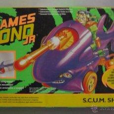 Figuras de acción: JAMES BOND JR, S.C.U.M. SHARK, EN CAJA. CC. Lote 51681183