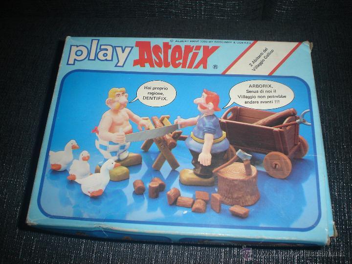 Figuras de acción: 2 personajes play Asterix - Foto 2 - 52342913