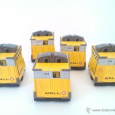 Figuras de acción: WALL-E, DISNEY/PIXAR - LOTE DE 5 MINI FIGURAS. Lote 52609861