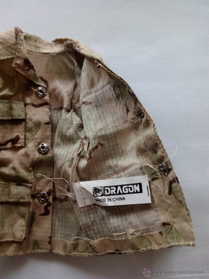 Figuras de acción: Uniforme de camuflaje desierto 1:6 - Foto 3 - 52632296