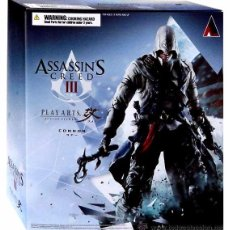 Figuras de acción: ASSASSINS CREED 3 CONNOR KENWAY PLAY ARTS KAI. Lote 53845268