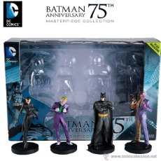 Figuras de acción: BATMAN ANNIVERSARY 75 MASTERPIECE COLLECTION DC COMICS. Lote 53890917